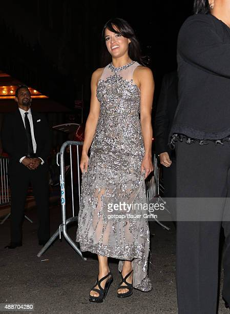 Michelle Rodriguez is seen on September 16 2015 in New York City