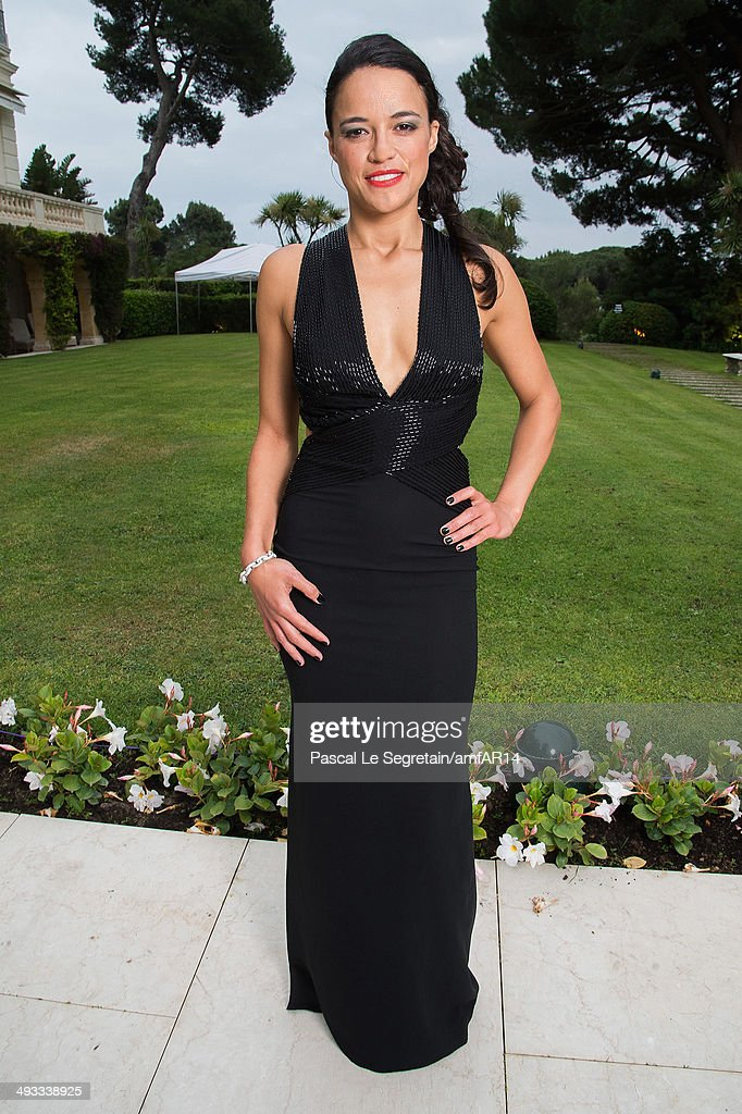 Michelle Rodriguez poses for a portrait at amfAR's 21st Cinema Against AIDS Gala Presented By WORLDVIEW, BOLD FILMS, And BVLGARI at Hotel du Cap-Eden-Roc on May 22, 2014 in Cap d'Antibes, France.