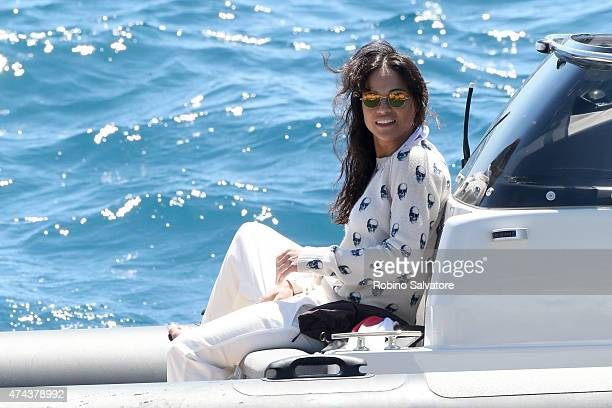 Michelle Rodriguez sighted on May 22 2015 in Antibes France