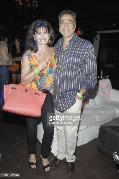 Michelle Rosenthal and Yaron Rosenthal attend Nic Roldan Shamin Abas and Tracy Mourning Host Hamptons Social Series Dinner For St Jude's at Lily Pond...