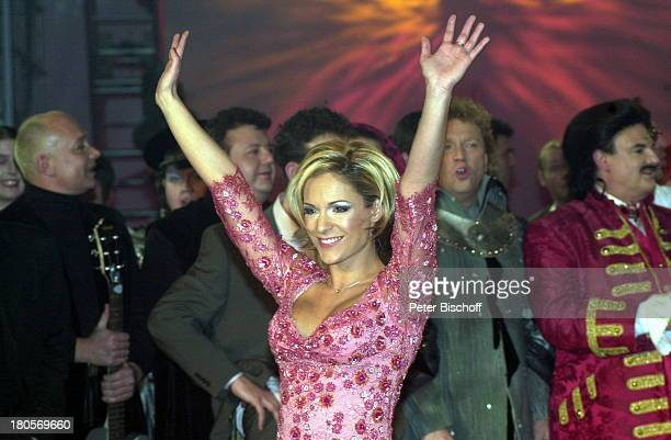 """Michelle , Rudolph;Moshammer , Mitglieder der;Musikgruppe """"Münchner Zwietracht"""" ,;Gratulanten, ARD-Musikshow """"Countdown;Grand Prix Eurovision"""",..."""