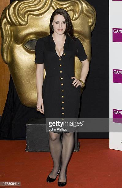 Michelle Ryan Arrives For The Bafta Video Games Awards At The Hilton Park Lane London
