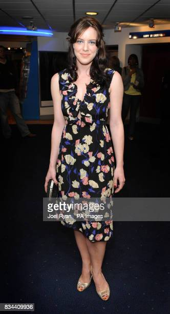 Michelle Ryan arrives for the VIP Screening of Cashback directed by Sean Ellis at the Odeon Covent Garden in central London