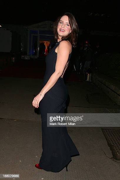 Michelle Ryan attending the Chain Of Hope Ball on November 14 2013 in London England