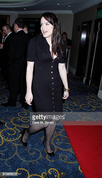 Michelle Ryan attends the BAFTA Video Games Awards at the 'Park Lane Hotel' on March 19 2010 in London England