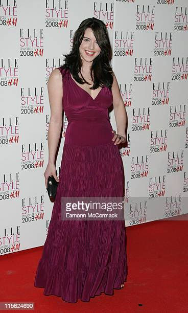 Michelle Ryan attends the ELLE Style Awards 2008 at the Westway on February 12 2008 in London England