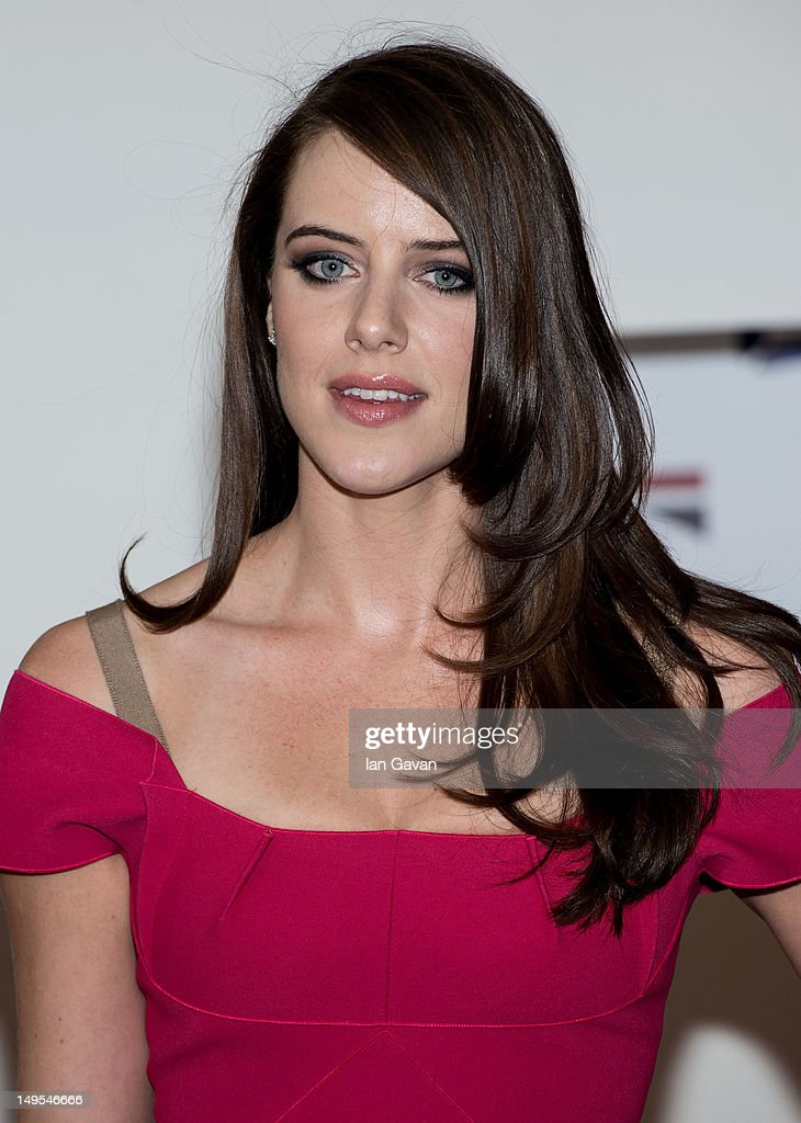 Michelle Ryan attends the UK's Creative Industries Reception at the Royal Academy of Arts on July 30, 2012 in London, England.