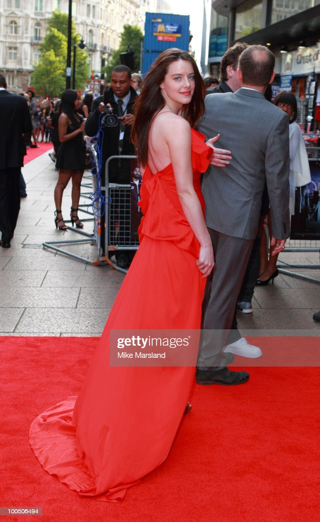 Michelle Ryan attends the World Premiere '4,3,2,1' at the Empire Leicester Square on on May 25, 2010 in London, England.