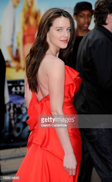 Michelle Ryan attends the World Premiere of 4 2,1 at the Empire Leicester Square on May 25, 2010 in London, England.