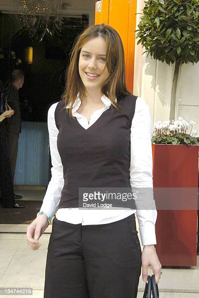 Michelle Ryan during 2005 InStyle Shopping Awards Winners Lunch at Morton's Berkeley Square in London Great Britain
