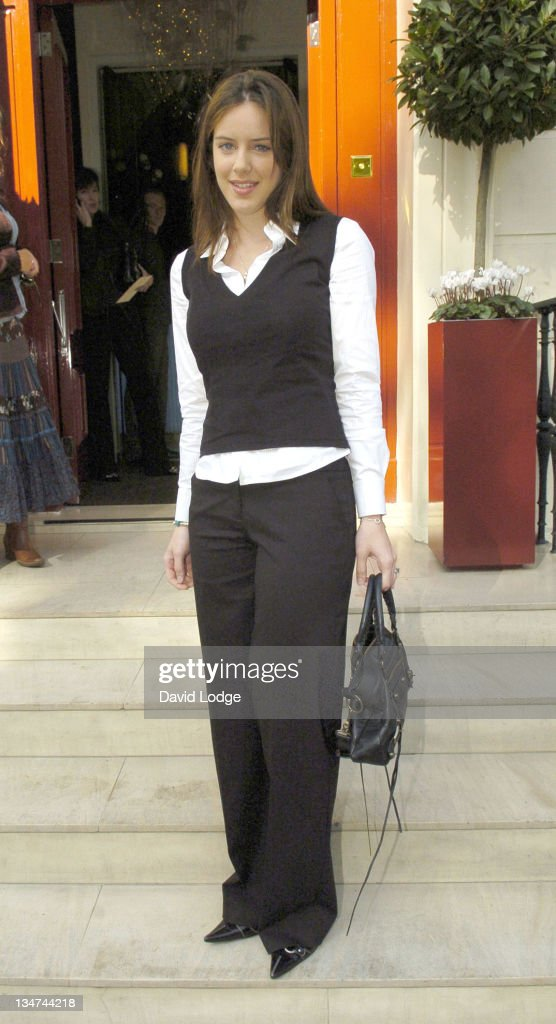Michelle Ryan during 2005 InStyle Shopping Awards - Winners Lunch at Morton's, Berkeley Square in London, Great Britain.