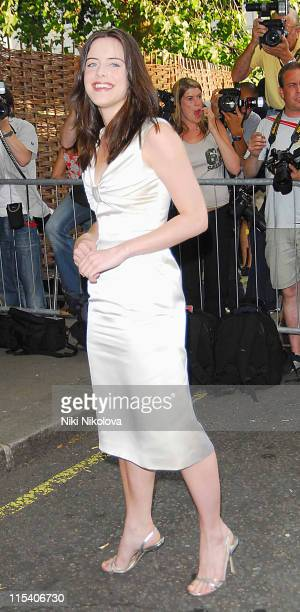 Michelle Ryan during Prince's Trust Summer Ball Outside Arrivals July 6 2006 at Berkeley Square in London Great Britain