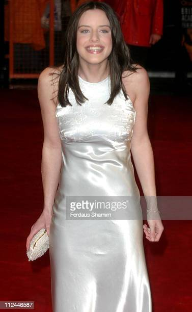 Michelle Ryan during The Orange British Academy Film Awards 2006 Outside Arrivals at Odeon Leicester Square in London Great Britain