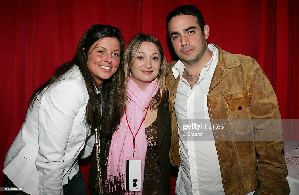 Michelle Ryan, Kristin Kavanagh and Charles Attal during SXSW Music Festival 2005 - DKNY Jeans / CAP CSE Late Night Party at The Old Austin Airport in Austin, Texas, United States.