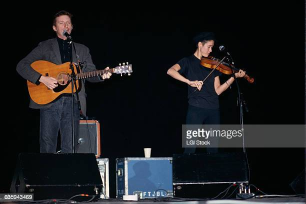 Michelle Shocked and Billy Bragg