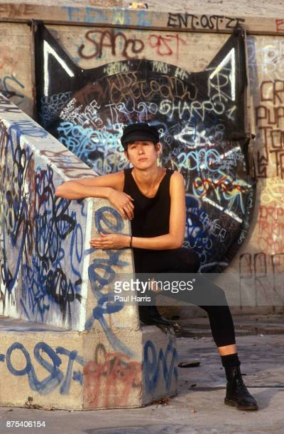 Michelle Shocked is an American singersongwriterShocked was born Karen Michelle Johnston on February 24 in Dallas Texas photographed October 14 1989...