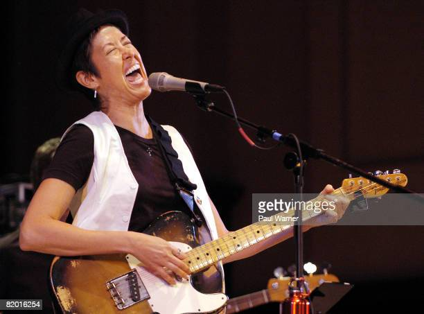 Michelle Shocked performs at the 2008 Concert of Colors at the Max M Fisher Music Center on July 20 2008 in Detroit