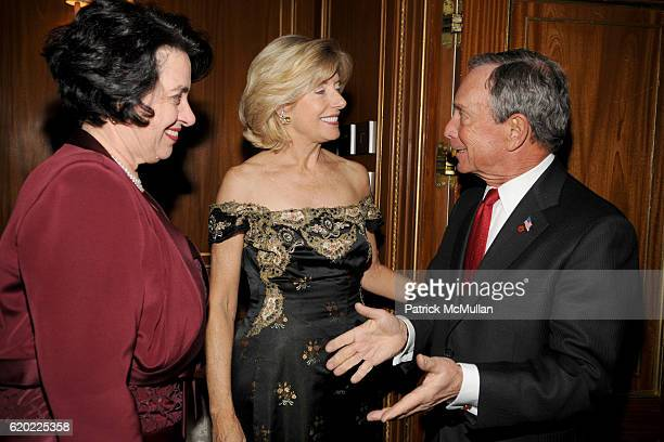Michelle Sidrane Liz Peek and Mayor Michael Bloomberg attend THE PARTNERSHIP WITH CHILDREN Turn of Our Century Centennial Dinner at The Pierre on...