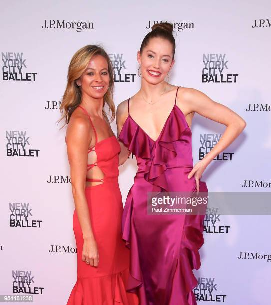 Michelle Smith and Unity Phalen attend the 2018 New York City Ballet Spring Gala at David H Koch Theater Lincoln Center on May 3 2018 in New York City