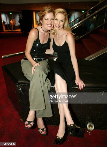 Michelle Stafford and Cynthia Preston during ATAS Hosts a StarStudded Fashion Show to Benefit Dress for Success at ATAS' Leonard H Goldenson Theatre...