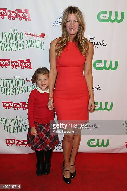 Michelle Stafford and daughter attend the 84th Annual Hollywood Christmas Parade on November 29 2015 in Hollywood California