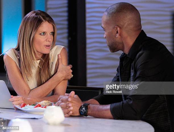 HOSPITAL Michelle Stafford and Donnell Turner in a scene that airs the week of June 20 2016 on ABC's 'General Hospital' The Emmywinning daytime drama...