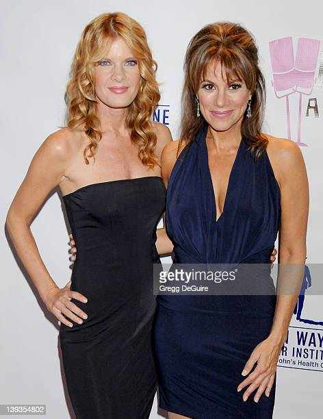 """Michelle Stafford and Nancy Grahn arrive at """"What A Pair! 7"""" Celebrity Concert to Benefit the John Wayne Cancer Institute at The Broad Stage on..."""