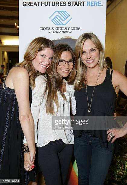 Michelle Stafford Vanessa Marcil and Kelly Sullivan attend 2nd Annual Poker For Great Futures Celebrity Tournament Red Carpet Party at Lexus Santa...