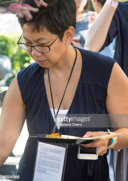 Michelle Sy Fast Track Fellow attends the Fast Track Happy Hour during the 2017 Los Angeles Film Festival on June 21 2017 in Culver City California