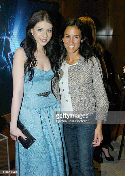 """Michelle Trachtenberg and Allison Cea during W Magazine's """"The New York Affair"""" Party at Penthouse Four in New York City, New York, United States."""