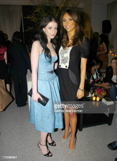 """Michelle Trachtenberg and Giuliana DePandi during W Magazine's """"The New York Affair"""" Party at Penthouse Four in New York City, New York, United..."""