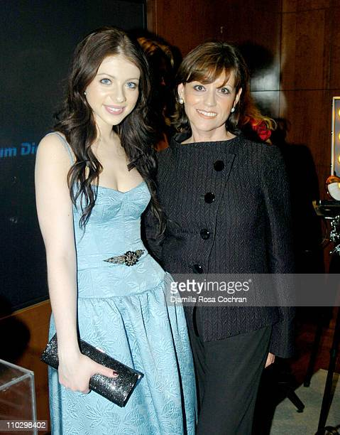 """Michelle Trachtenberg and Linda Maiocco during W Magazine's """"The New York Affair"""" Party at Penthouse Four in New York City, New York, United States."""