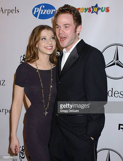 Michelle Trachtenberg and Shawn Ashmore during Mercedes Benz Presents the 16th Annual Carousel Of Hope Gala Arrivals at Beverly Hilton Hotel in...