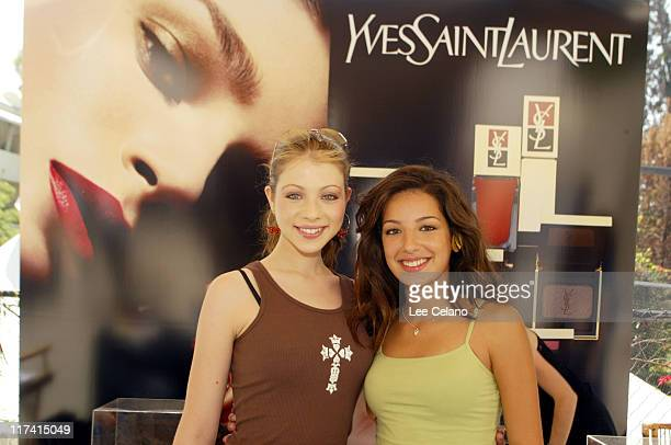 Michelle Trachtenberg and Vanessa Lengies at Yves Saint Laurent Photo by Lee Celano/WireImage for Silver Spoon