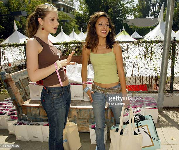 Michelle Trachtenberg and Vanessa Lengies during The Silver Spoon Beauty Buffet Sponsored By Allure Day Two at Private Residence in Los Angeles...