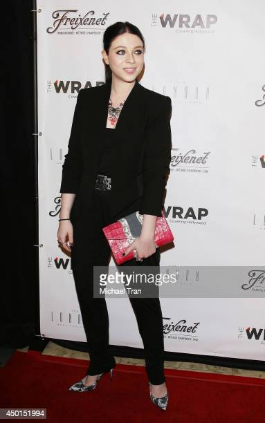 Michelle Trachtenberg arrives at TheWrap's First Annual Emmy Party held at The London West Hollywood on June 5, 2014 in West Hollywood, California.