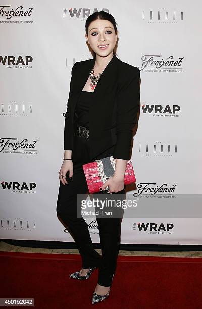 Michelle Trachtenberg arrives at TheWrap's First Annual Emmy Party held at The London on June 5, 2014 in West Hollywood, California.