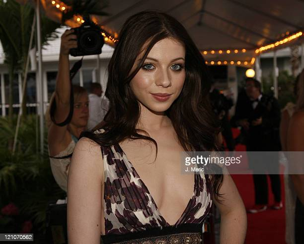 Michelle Trachtenberg arrives for the 2007 Filmmakers' Tribute Dinner on Saturday evening at the Longboat Key Club in Longboat Key Florida on April...
