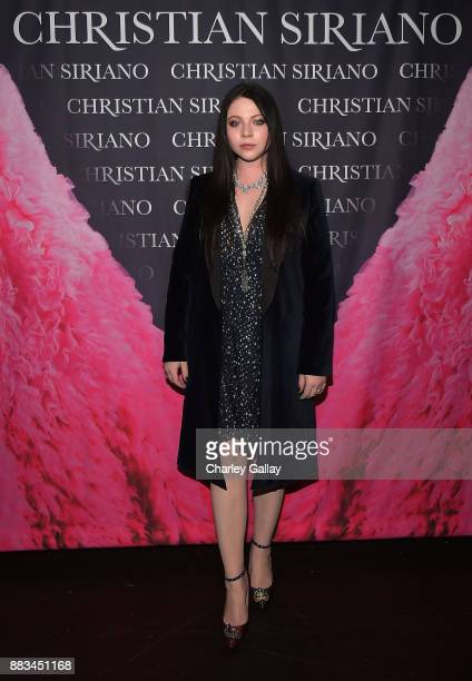 Michelle Trachtenberg attends Christian Siriano's celebration of the launch of his new book 'Dresses To Dream About' in Los Angeles at Chateau...