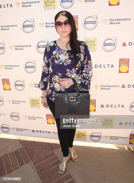 Michelle Trachtenberg attends LA Loves Alex's Lemonade 2018 culinary event at UCLA Royce Quad on September 8 2018 in Los Angeles California