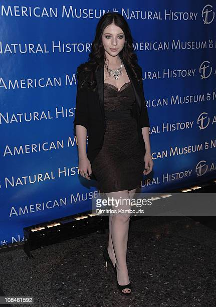 Michelle Trachtenberg attends the 2010 AMNH museum dance at the American Museum of Natural History on April 15 2010 in New York City