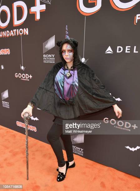 Michelle Trachtenberg attends the 2018 GOOD Foundation's 3rd Annual Halloween Bash presented by Delta Air Lines and Otter Pops on October 28 2018 in...