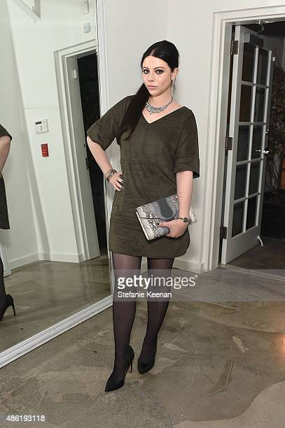 Michelle Trachtenberg attends The A List 15th Anniversary Party on September 1 2015 in Beverly Hills California