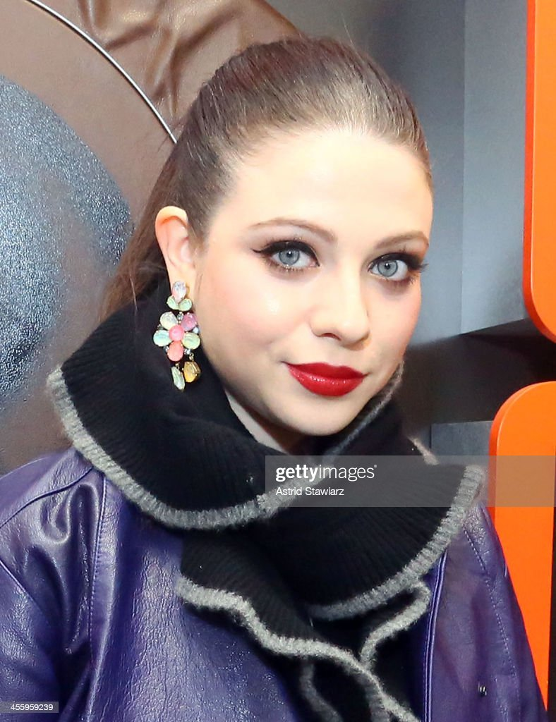 Michelle Trachtenberg attends the Charlotte Ronson Holiday Party At RadioShack Pop-Up Store in Times Square on December 12, 2013 in New York City.