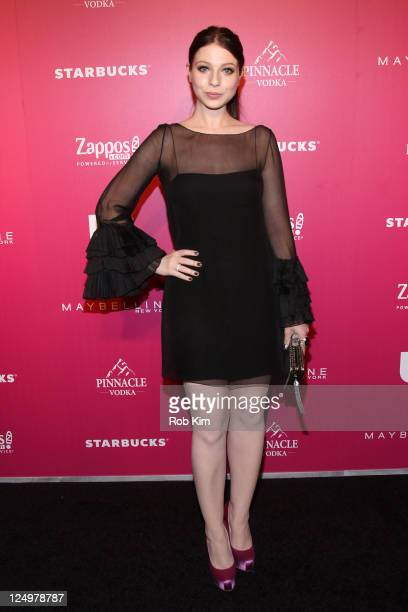 Michelle Trachtenberg attends the event to celebrate Us Weekly's 25 Most Stylish New Yorkers Of 2011 at Penthouse at Dream Downtown on September 14...