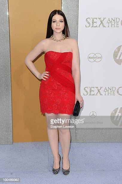 Michelle Trachtenberg attends the premiere of Sex and the City 2 at Radio City Music Hall on May 24 2010 in New York City