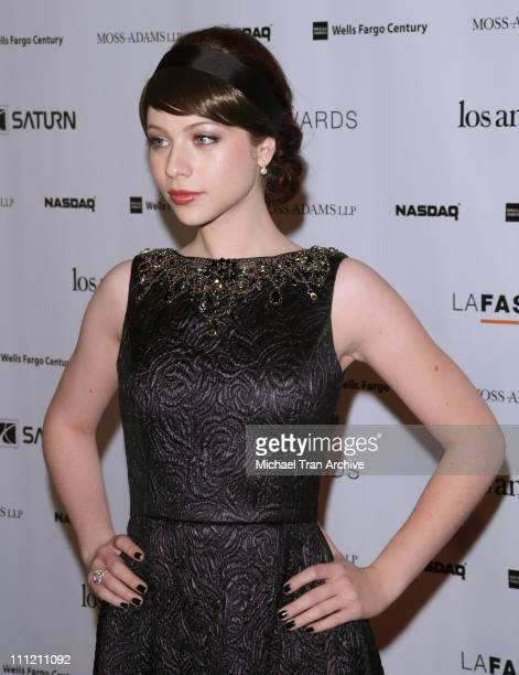 Michelle Trachtenberg during 2nd Annual LA Fashion Awards at Orpheum Theatre in Los Angeles California United States