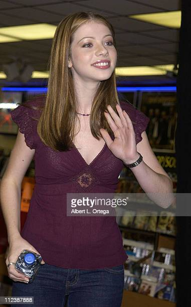 Michelle Trachtenberg during 'Buffy The Vampire Slayer' 'Once More With Feeling' CD Release at Tower Records Sunset in Hollywood California United...