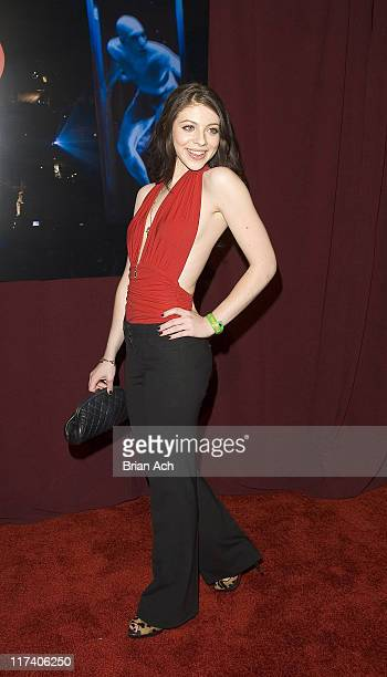 Michelle Trachtenberg during Cirque du Soleil's 'DELIRIUM' at Tupelo Grill in New York City New York United States
