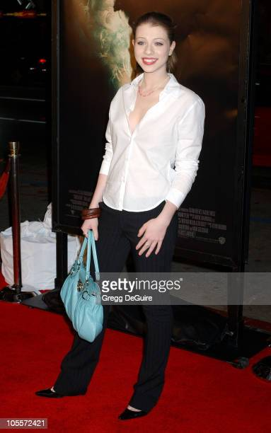 Michelle Trachtenberg during 'Constantine' Los Angeles Premiere Arrivals at Grauman's Chinese Theatre in Hollywood California United States